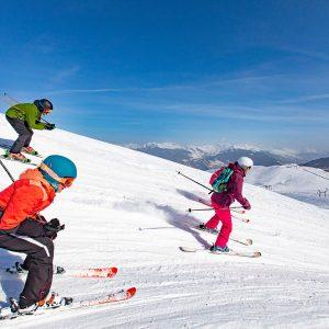 Boardercross sur le domaine skiable de Valmorel