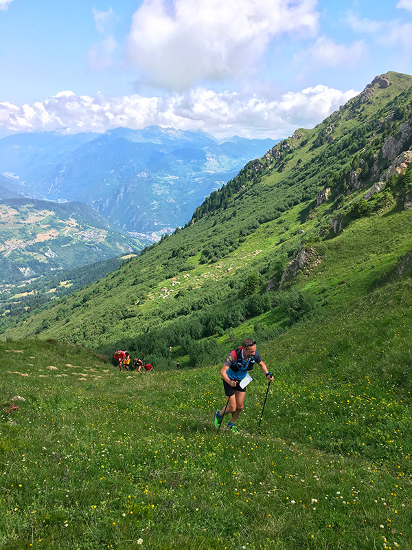 Trail à Valmorel Savoie