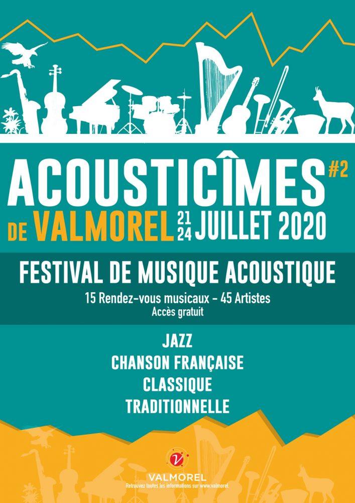 Affiche les Acousticîmes de valmorel 2020