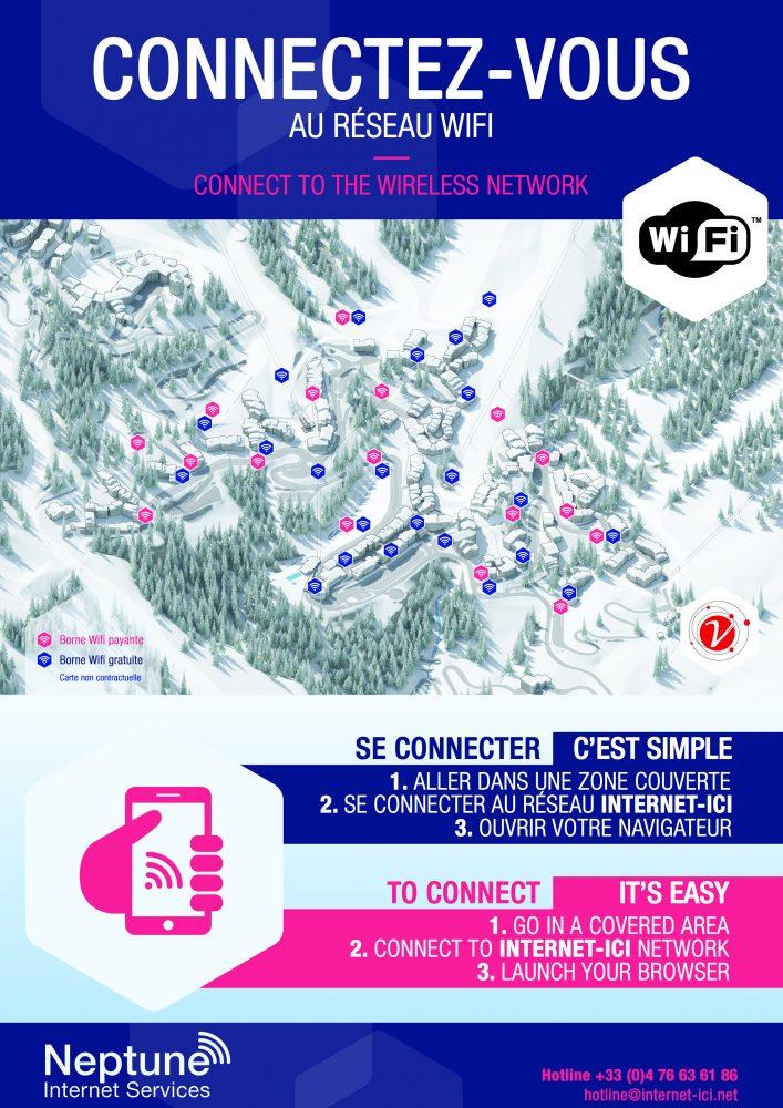 Affiche wifi valmorel