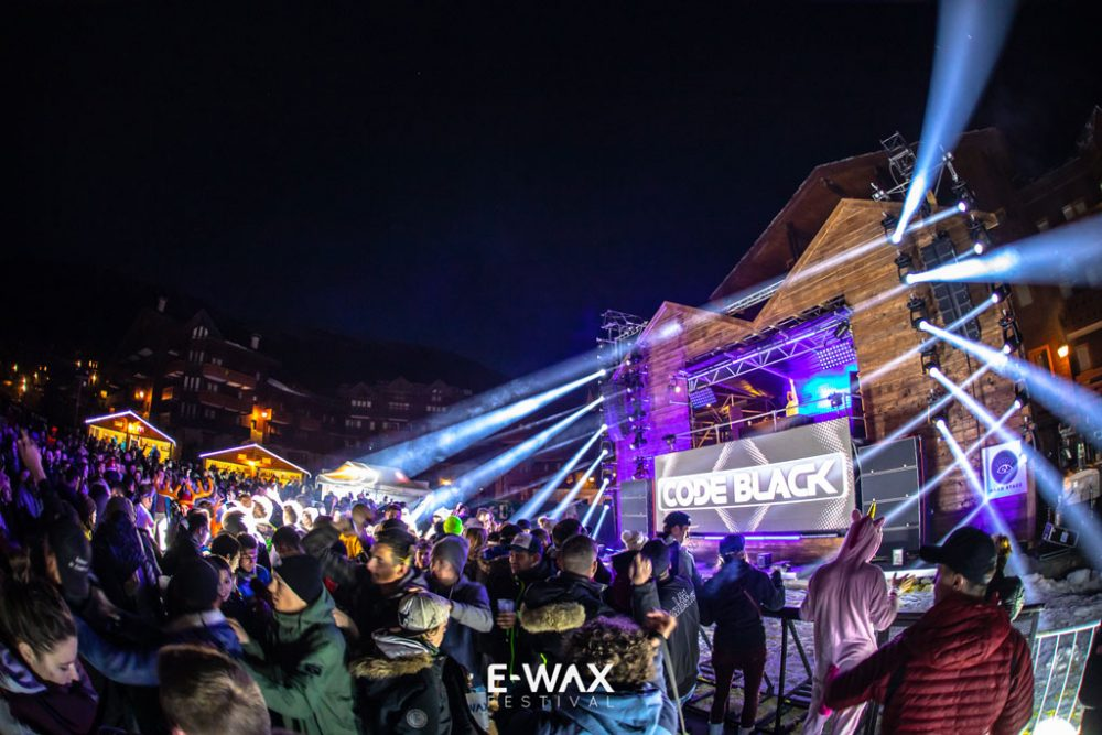 E-wax festival à Valmorel