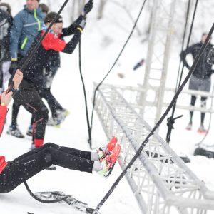 Winter Spartan race valmorel