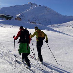 Ski de randonnée valmorel