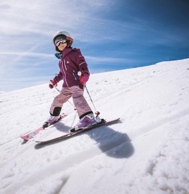 Ski debutant valmorel