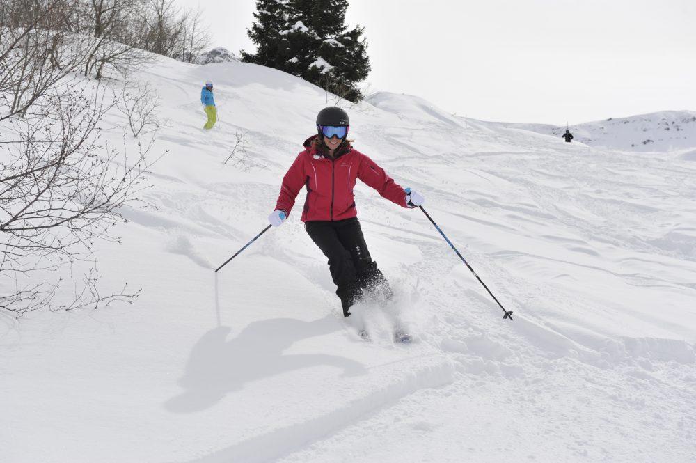 Ski freeride valmorel
