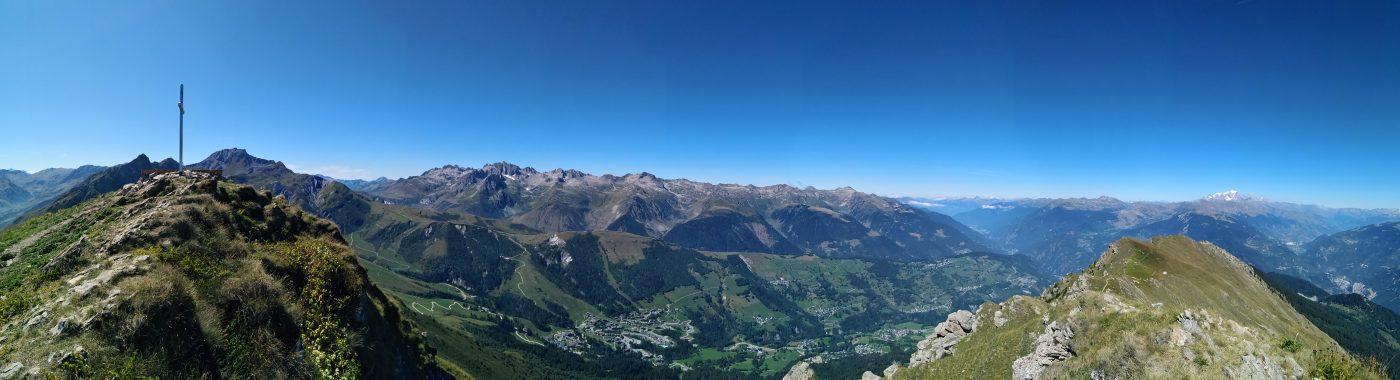 Panorama sommet Crève-Tête