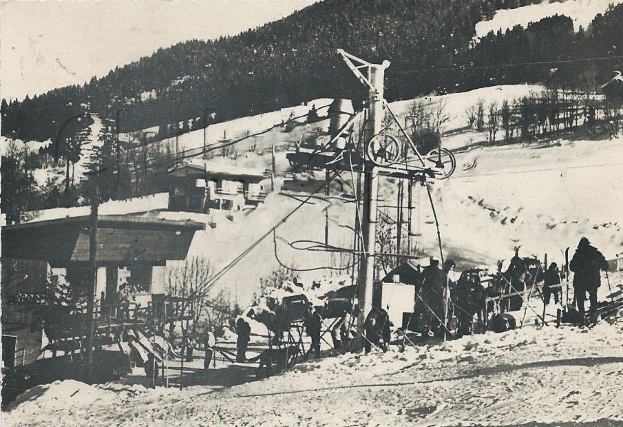 Téléski au village le pré