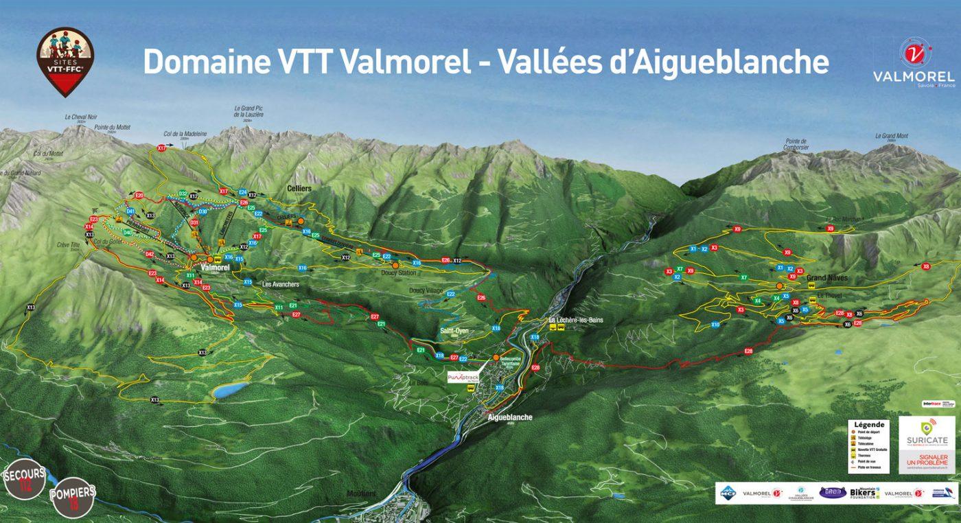 Domaine VTT valmorel