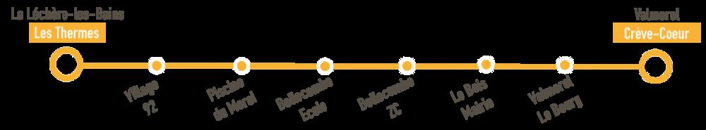 Vallée'bus navette station valmorel vallée
